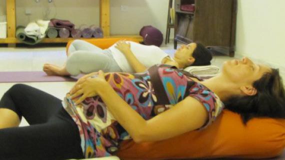 יוגה בהריון ובלידה